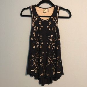 Anthropologie Akemi + Kin Filigree Lace Tank Top